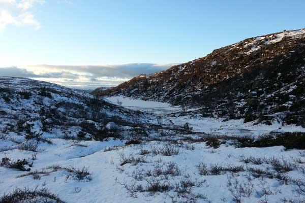 Utsikten nedover Fagerfetdalen